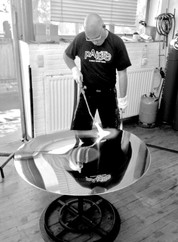 Making a large gong