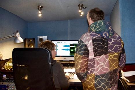 Gong recording at Silver Street Studio, Reading