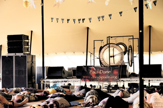 Gongspace at Soul Circus Festival