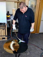 Making a gong