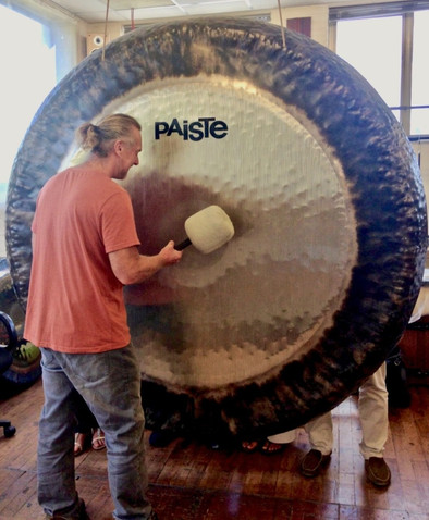 "80"" Gong at the Paiste Factory, Rendsberg, Germany"