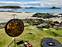 Gong in the countryside