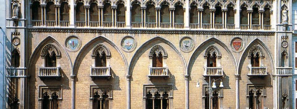 Prospetto del palazzo