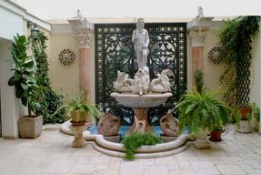 Fontana del Nettuno nel cortile interno