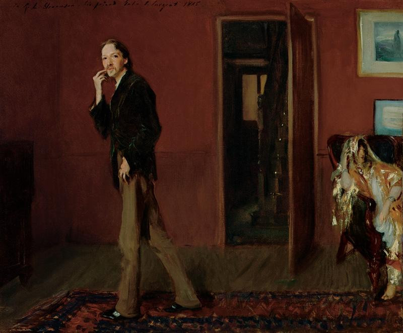 Sargent's take on Robert Louis Stevenson