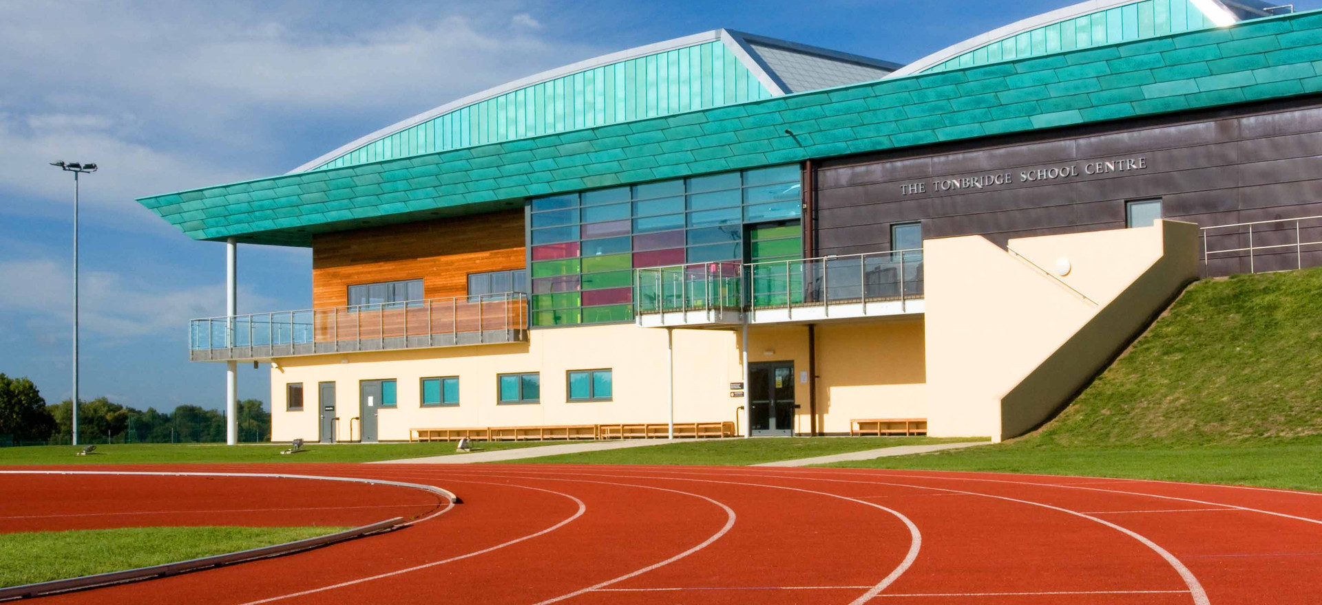 Tonbridge School Centre & track reduced.