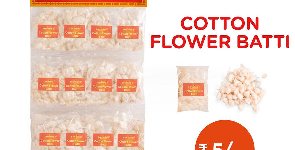 Cotton flower batti