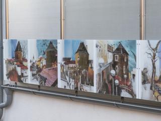 Gestaltung Außenwand - Kunst im öffentlichen Raum