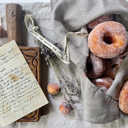 Lavender Doughnuts