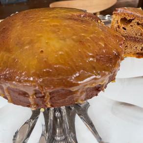 Sugarless Chocolate Honey Cake