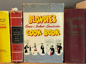 Blondie's Cook Book cover
