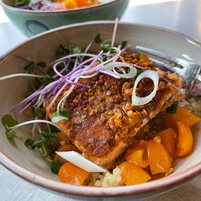 Suya Spiced Salmon