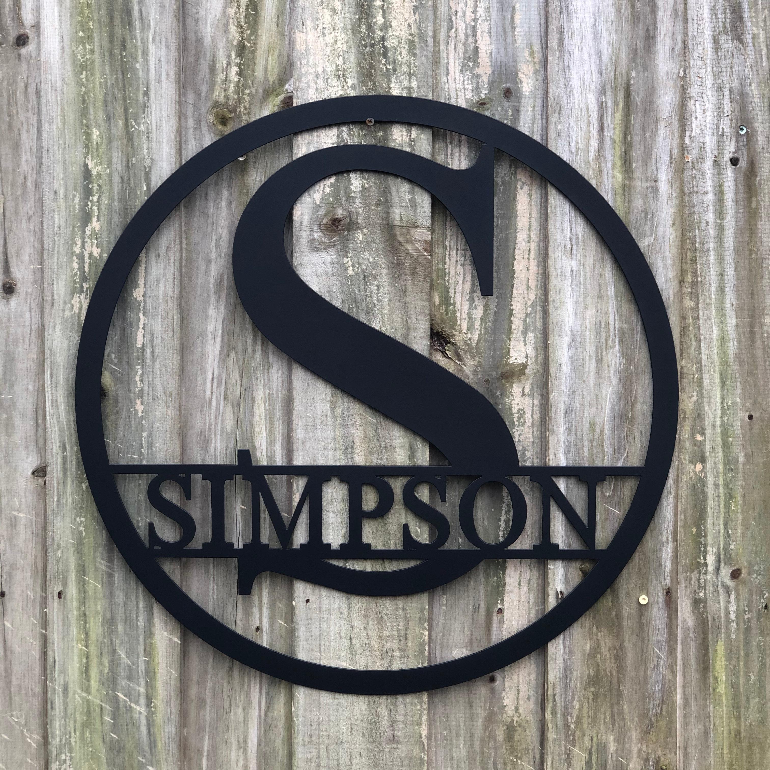 Indoor//Outdoor WALKER Street Sign room last name family love