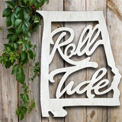 "20"" Alabama State – Roll Tide"