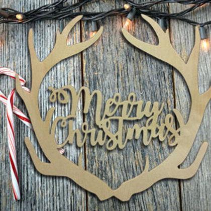 Merry Christmas Antler