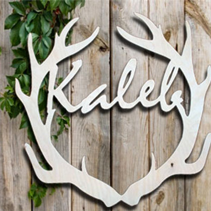 """18"""" Personalized Antler"""