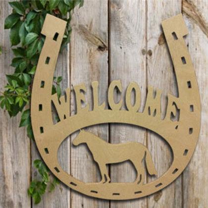 Horseshoe Welcome