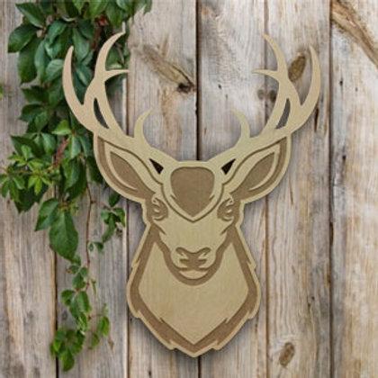 Engraved Buck