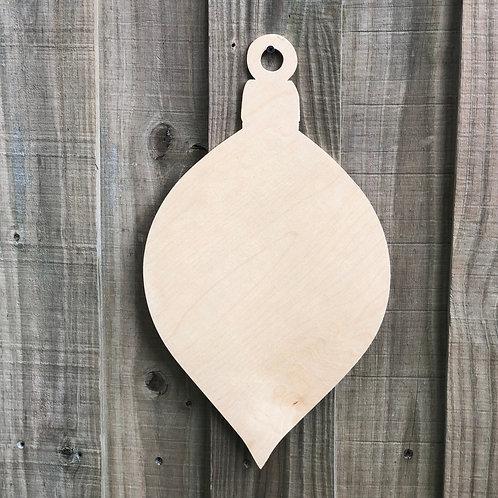 Wood Christmas Ornament