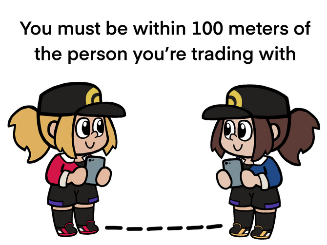 Pokemon Trading Tutorial Illustrations for my Nephew