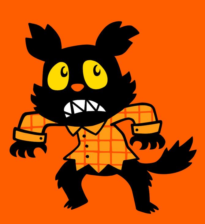 Nervous Werewolf