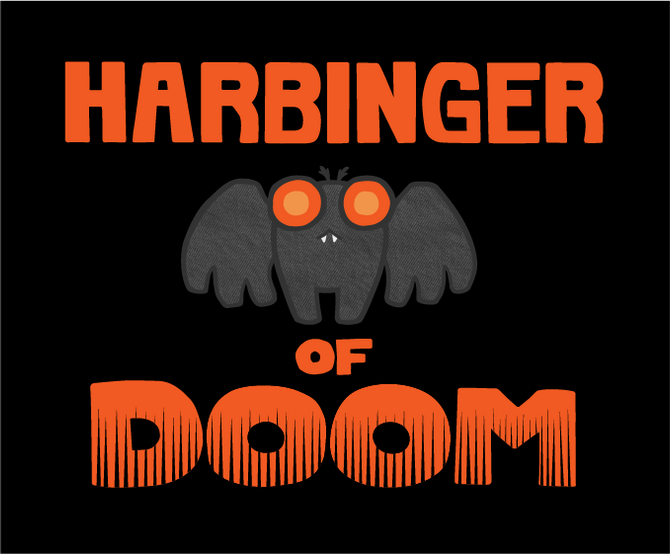 Harbinger of Doom Mothman shirt