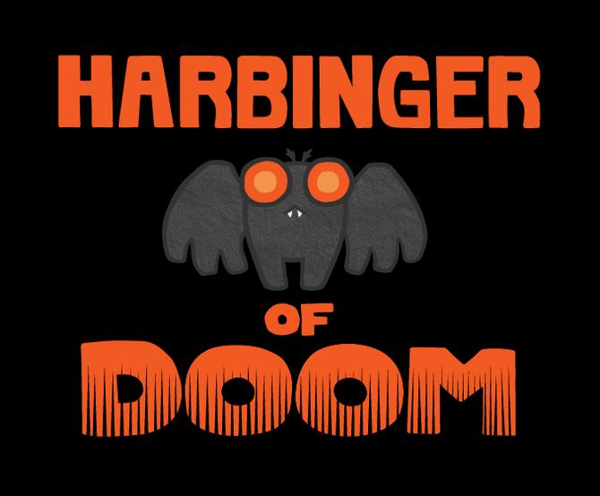 Harbinger of Doom Mothman shirt