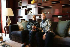 South African President Zuma and Hanxiang Zhao