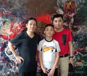 Jun Tan (L) and Shuai Tan (R)