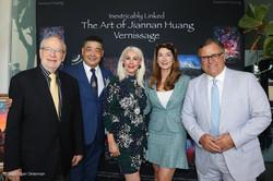 Harrison Engel, Joey Zhou, Princess Karen Cantrell, Sharon Amezcua, Carlos Amezcua