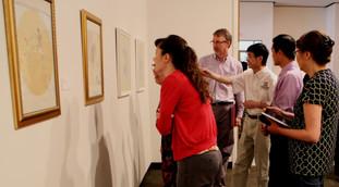 Xinyong Wang at Wayne Stark Galleries at Texas A&M University (2015)