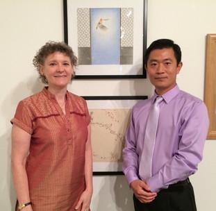 Xinyong Wang at J. Wayne Stark Galleries at Texas A&M University (2015)