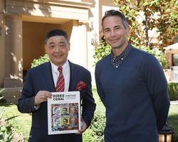 Joey Zhou and Professor G. James Daichendt