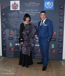Homeira Goldstein and Joey Zhou