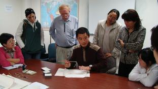 Xinyong Wang at Michigan State University (2009)