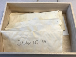 Box of soldiers' letters