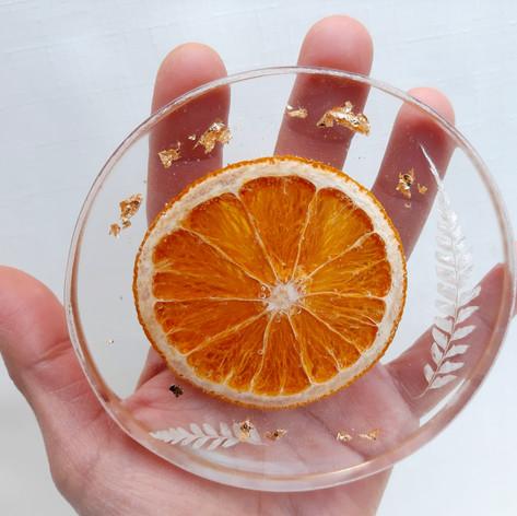 Citrus coaster