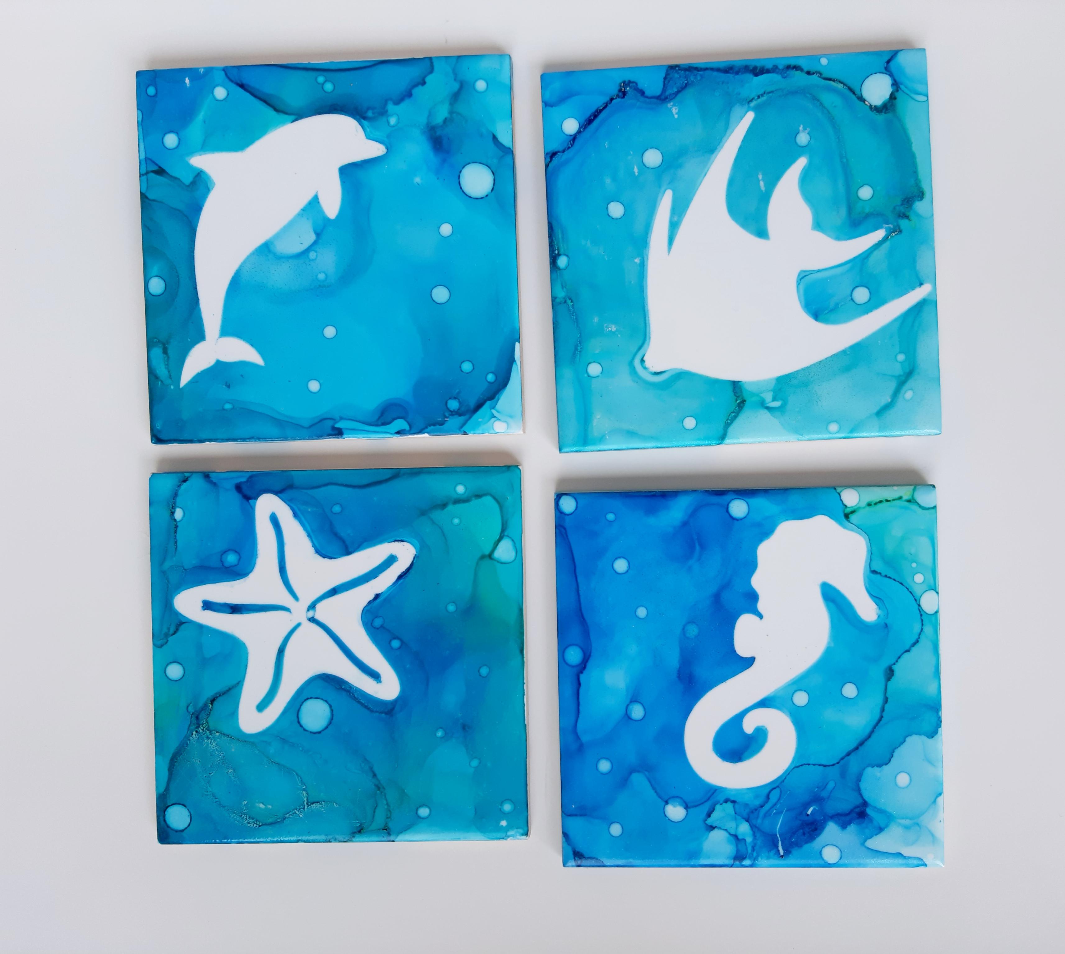 Ceramic coasters-Ocean.jpg