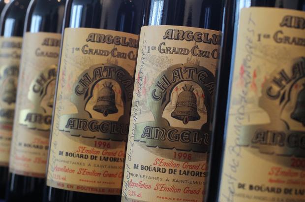 Chateau Angelus label