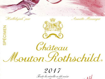 Mouton Rothschild reveals 2017 label by Annette Messager