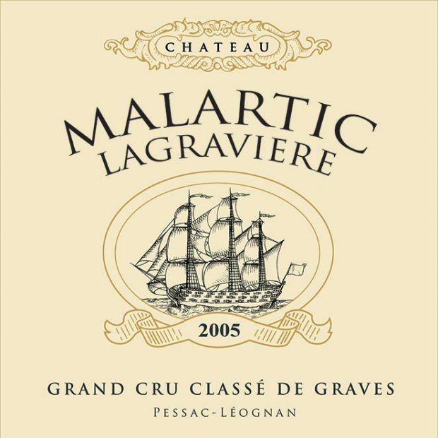 Chateau Malartic-Lagraviere label