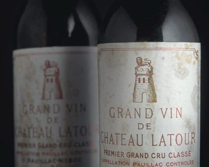 Christie's to offer Latour winemaker's collection in London