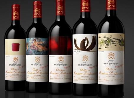 Mouton Rothschild 'Versailles' cases fetch $2.7m at auction