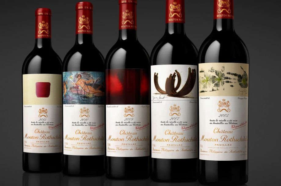Mouton Rothschild Versaille case