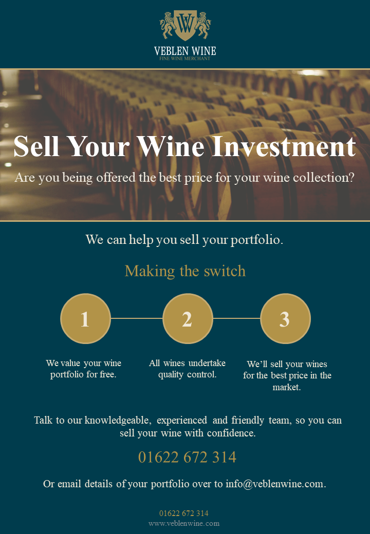 Sell your wine investment