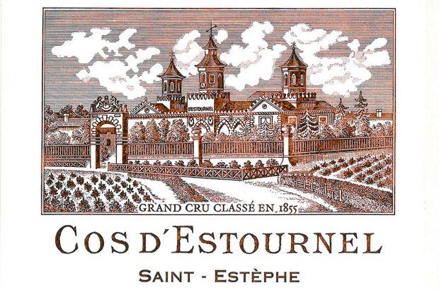 Chateau Cos d'Estournel label