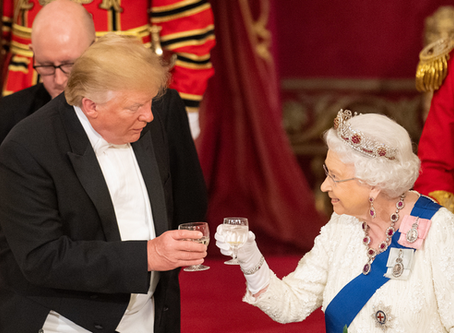 What wines were served at the Trump State banquet?