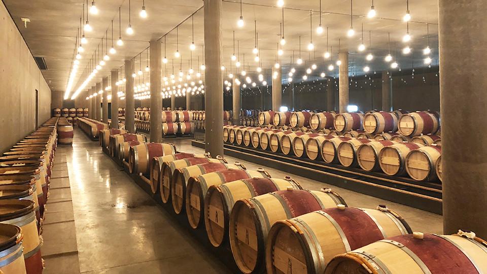 Chateau Latour cellars