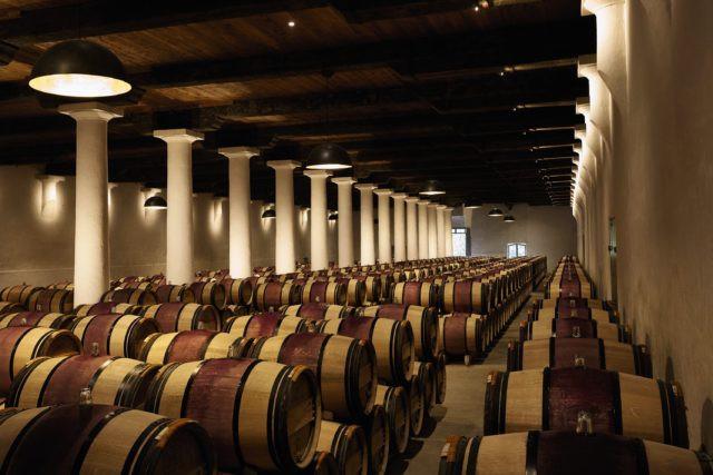 Margaux cellar