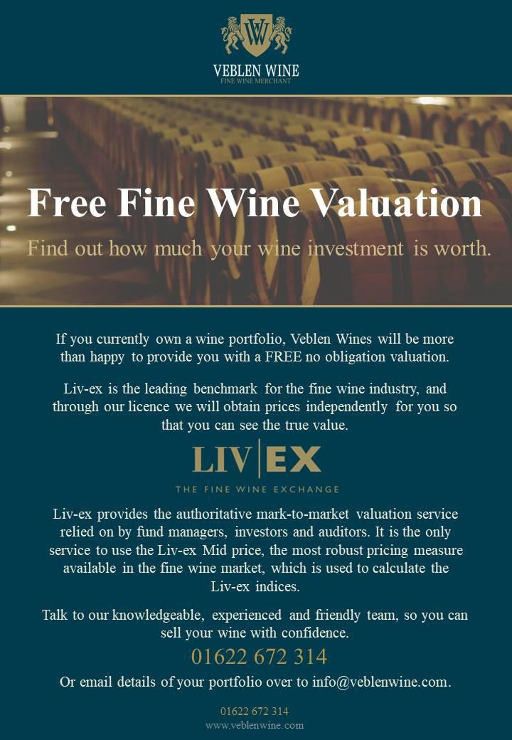 Veblen Wines Ltd | Free Fine Wine Valuation